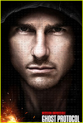 Tom Cruise: 'Mission: Impossible - Ghost Protocol' Poster!