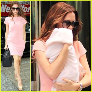 Victoria Beckham Is A Miu Miu Mommy