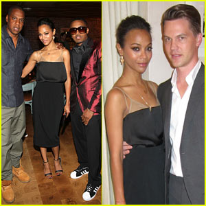 Zoe Saldana: MyFDB.com NYC Celebration!