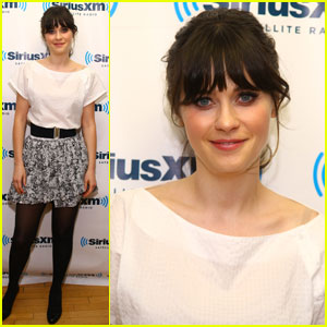 Zooey Deschanel Makes A Sirius Stop