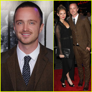 Aaron Paul: 'The Thing' Premiere in Universal City!