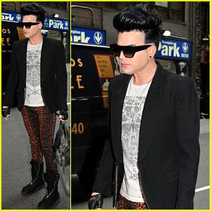 Adam Lambert: Working on New Record in NYC!