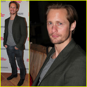Alexander Skarsgard: Hamptons International Film Festival!
