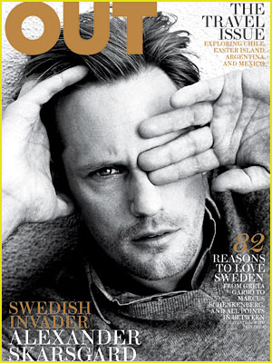 Alexander Skarsgard Covers 'Out' November 2011