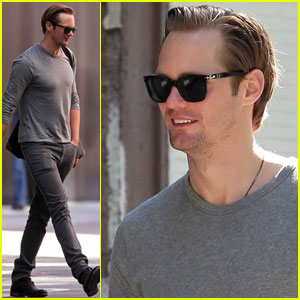 Alexander Skarsgard: More Bromance for Bill & Eric?