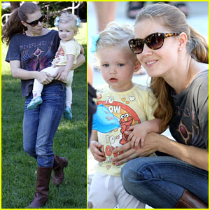 Amy Adams: Afternoon with Aviana!