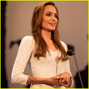 Angelina Jolie: UNHCR Ceremony & Tribute!