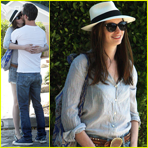 Anne Hathaway & Adam Shulman: Sunday Lovin'