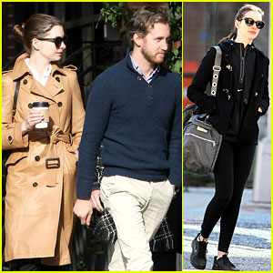 Anne Hathaway: Brooklyn Date with Adam Shulman & Mom!