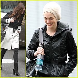 Anne Hathaway: Brooklyn with Adam Shulman!