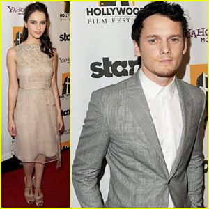 Anton Yelchin & Felicity Jones - Hollywood Film Awards 2011