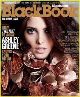 Ashley Greene Covers 'BlackBook' November 2011