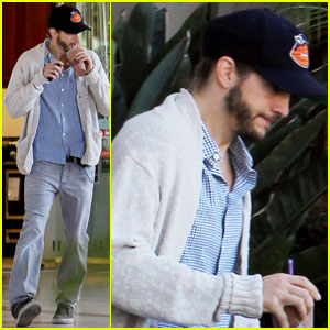 Ashton Kutcher: Coffee After Camping