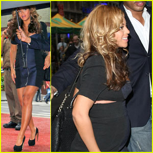 Beyonce: Baby Bump in the Big Apple!