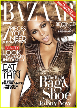 Beyonce Covers 'Harper's Bazaar' November 2011