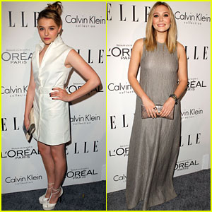 Chloe Moretz & Elizabeth Olsen: 'Elle' Tribute Lovelies!