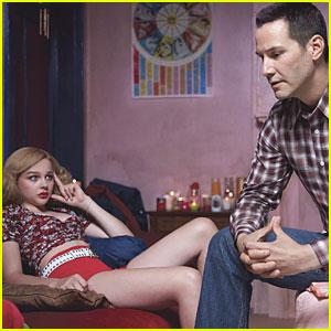 Chloe Moretz & Keanu Reeves: 'Taxi Driver' for Harper's Bazaar!
