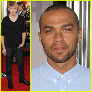 Chord Overstreet: 'Real Steel' Premiere with Jesse Williams!