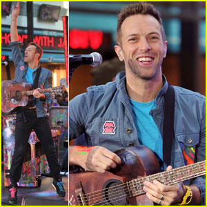 Coldplay Takes Over 'Today' in NYC