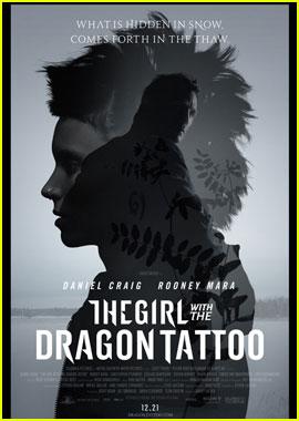 Daniel Craig & Rooney Mara: New 'Dragon Tattoo' Poster!