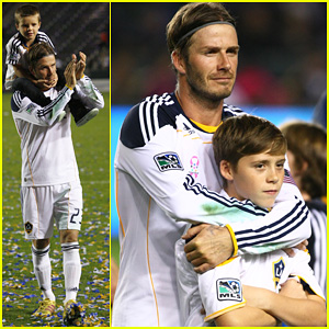 David Beckham: Galaxy Celebration with the Boys!