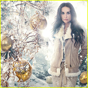 Demi Moore: Ann Taylor's Holiday Face!