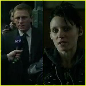 Daniel Craig & Rooney Mara: New 'Dragon Tattoo' International Trailer!