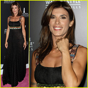 Elisabetta Canalis: Rodeo Drive Walk of Style Awards!