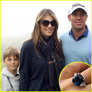 Elizabeth Hurley: Engaged to Shane Warne!