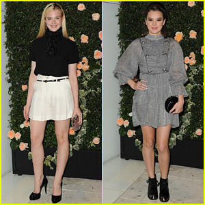 Elle Fanning & Hailee Steinfeld: Chanel Intimate Dinner Duo