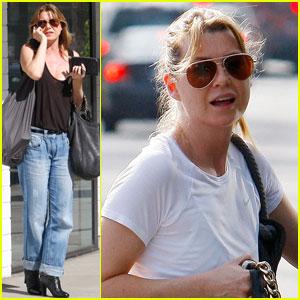 Ellen Pompeo: Pink Scrubs for 'Grey's Anatomy'