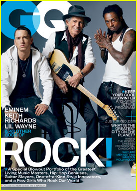Eminem &#038; Lil Wayne Cover 'GQ' November 2011