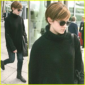 Emma Watson: Hello, Heathrow!
