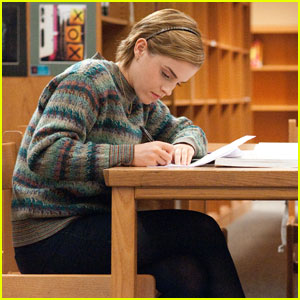 Emma Watson in 'Perks of Being a Wallflower' - FIRST LOOK!