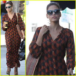 Eva Mendes: Studio City Shopper