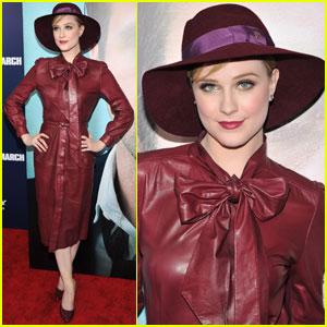 Evan Rachel Wood: 'Ides of March' NYC Premiere!