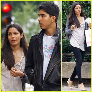 Freida Pinto: Notting Hill With Dev Patel!