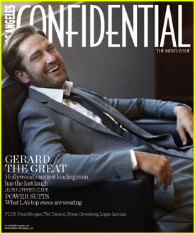 Gerard Butler Covers 'Los Angeles Confidential' October 2011