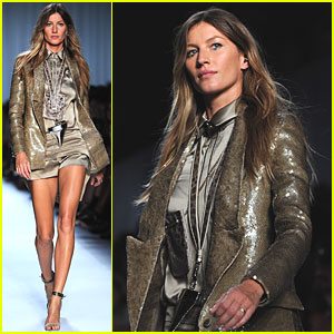 Gisele Bundchen: Givenchy Runway Model!