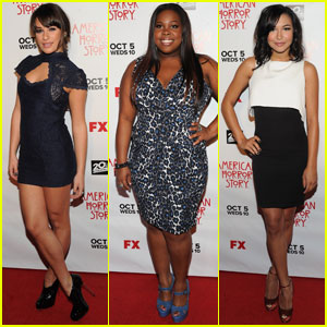 'Glee' Cast Attends 'American Horror Story' Premiere
