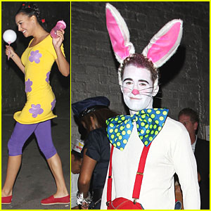 'Glee' Cast: Halloween Costumes Revealed!