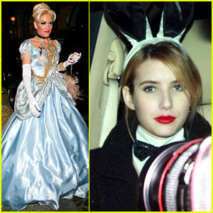 Kate Hudson's Halloween Party: Celebrity Costumes Galore!