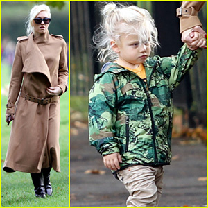 Gwen Stefani: London Playdate with Zuma!