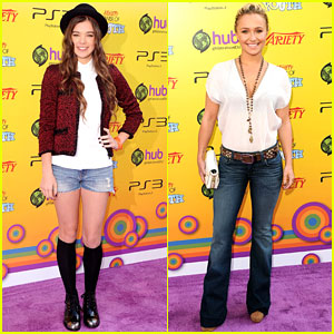 Hailee Steinfeld & Hayden Panettiere: Power of Youth!