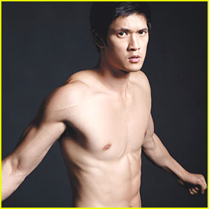 Harry Shum, Jr: Shirtless for 'Da Man' Magazine