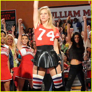 Heather Morris Runs The World on 'Glee'