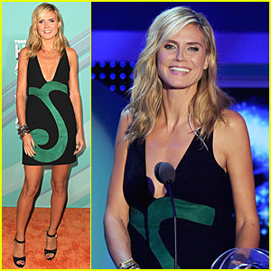 Heidi Klum: TeenNick Halo Awards!