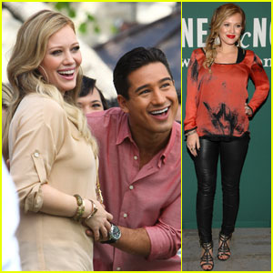 Hilary Duff: 'Extra' Interview with Mario Lopez!