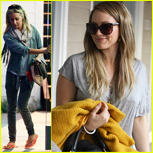 Hilary & Haylie Duff: Salon Trip with Ashley Tisdale!