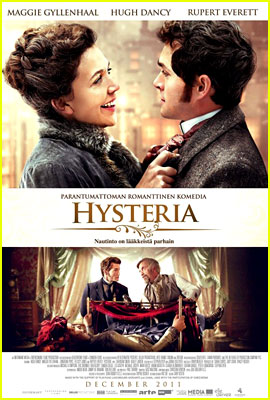 Hugh Dancy & Maggie Gyllenhaal: New 'Hysteria' Poster!